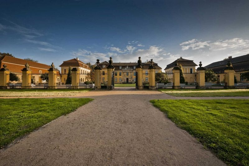 Schloss Mosigkau Dessau Frontalansicht