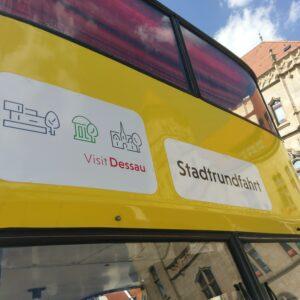 Stadtrundfahrt im Doppeldeckerbus