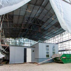 Baustelle Stahlhaus