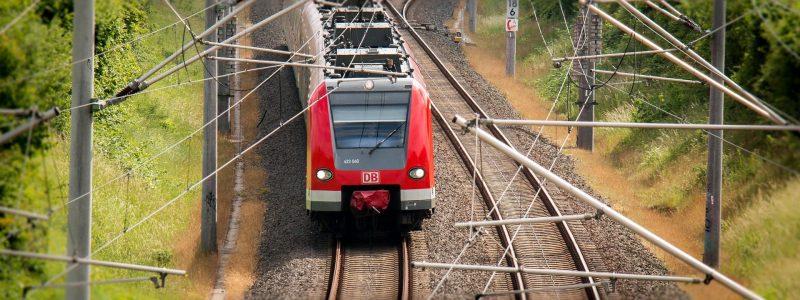 Deutsche Bahn auf einer Strecke