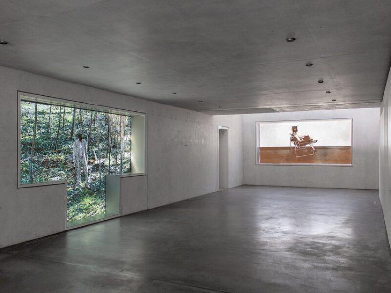 Ausstellungsraum im Haus Gropius Dessau