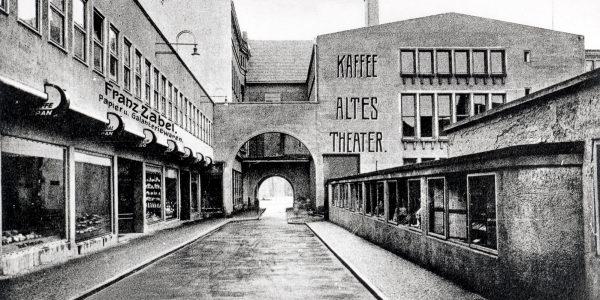 Bild von früher cafe altes theater