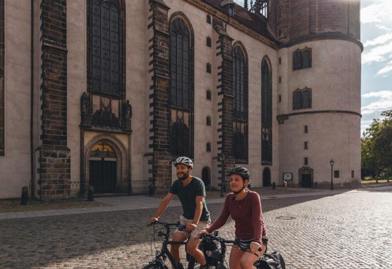 Radfahren in Wittenberg