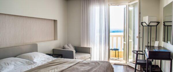 Hotelzimmer von Innen in Dessau Roßlau