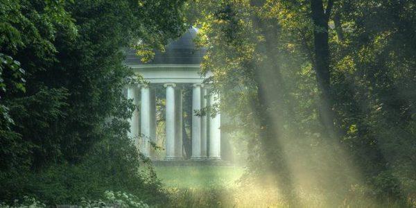 ionischer tempel im Gartenreich dessau