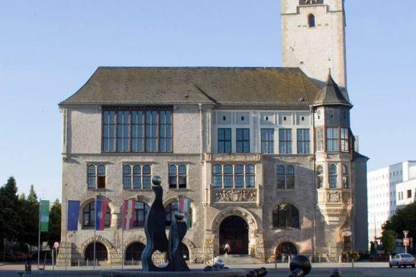 Ratssaal des Rathauses Dessau