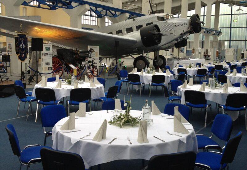 Technik Museum Hugo Junkers als Tagungsort