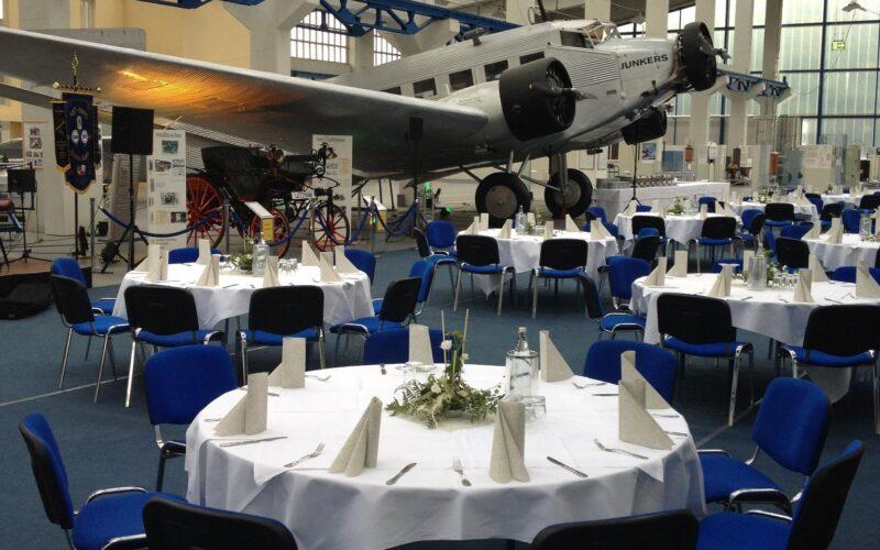 Technikmuseum Hugo Junkers als Veranstaltungsort