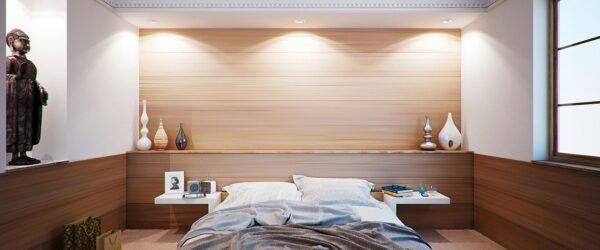 Hotelzimmer mit groem Bett
